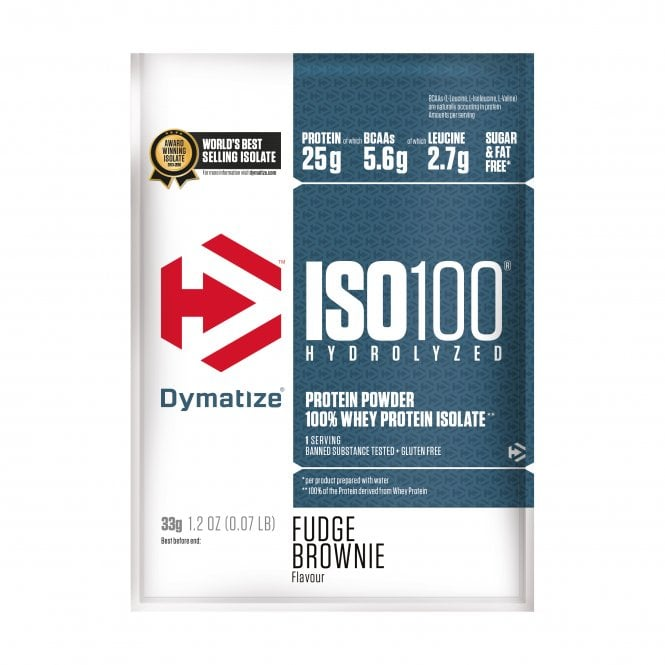Dymatize ISO 100 4 x 31g (SHORT DATED)