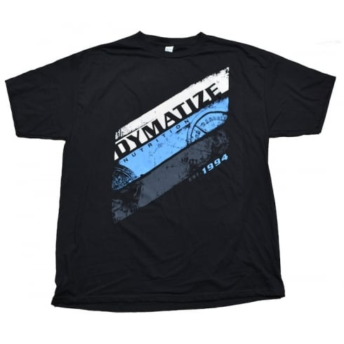 Dymatize Stripe T-Shirt Black