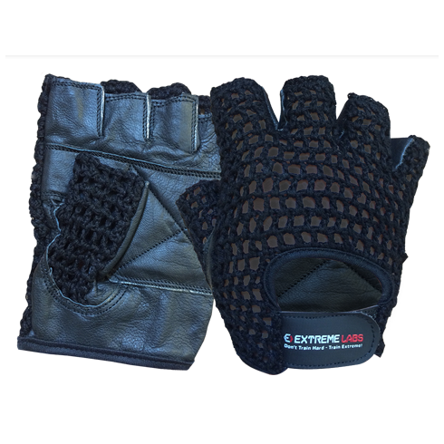 Extreme Labs Mesh Back Gloves Black