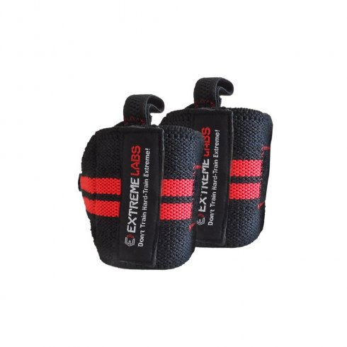 Extreme Labs Velcro Wrist Wrap Red/Black
