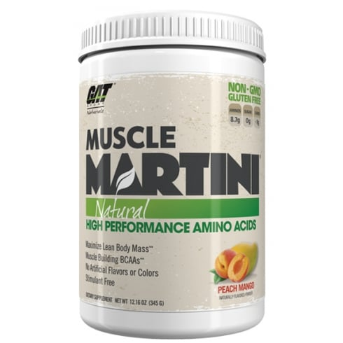 Gat Natural Muscle Martini 345G