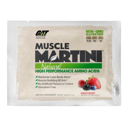 Gat Natural Muscle Martini Single Sachet 11.5g