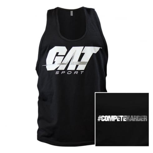 GAT Sport Gat Compete Harder Tank Top Black
