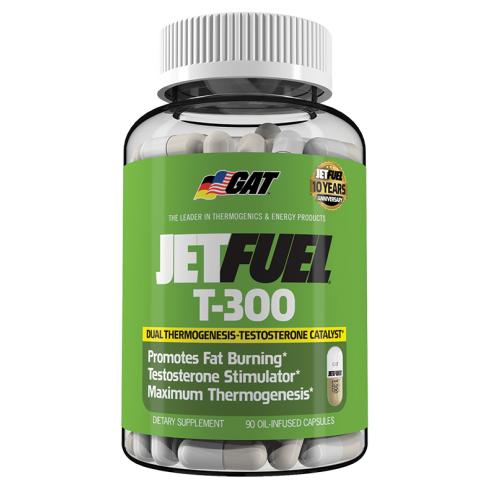 GAT Sport Jet Fuel T-300 90 Oil Capsules