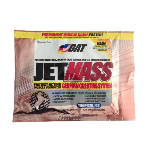 GAT Sport Jet Mass Single Sachet 20g