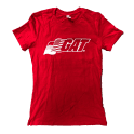 GAT Sport Ladies T-Shirt #Competeharder Red