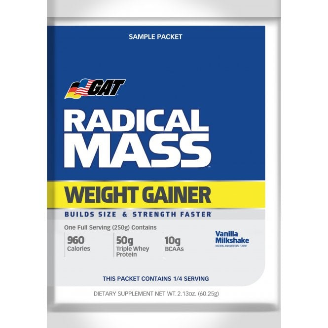 GAT Sport Radical Mass - Old Label 60G Sachet