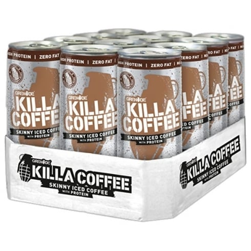 Grenade Killa Coffee Skinny Iced Coffee 12 X 250 Ml