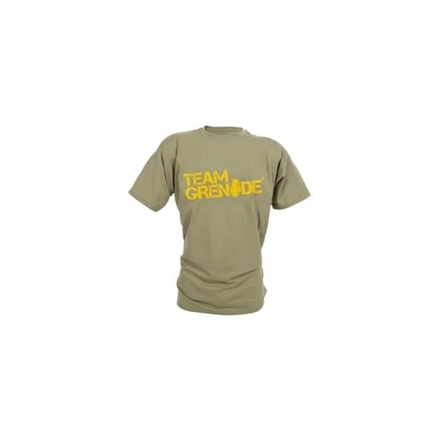 Grenade Promo T-Shirts Dark Green/Orange