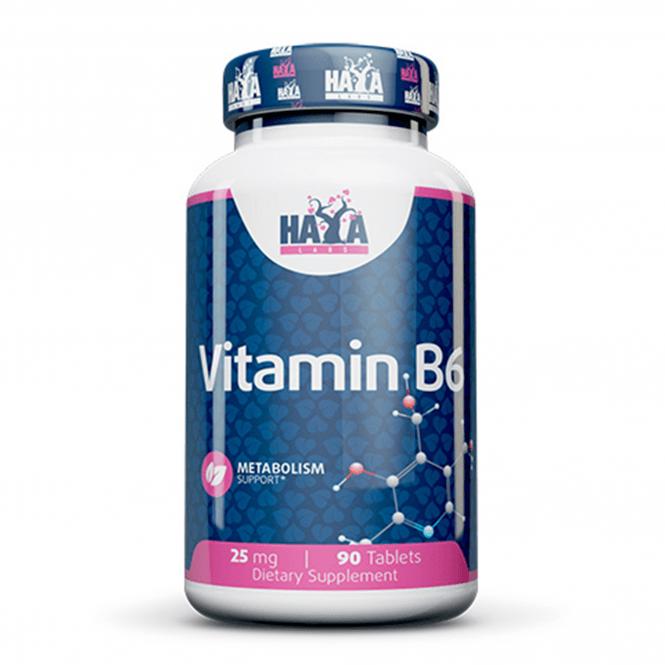 Haya Labs Vitamin B6 25mg 90 Tabs