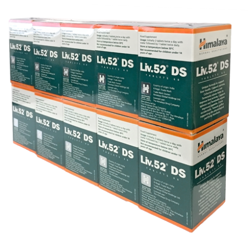 Himalaya Liv. 52 **Ds Double Strength** 60 Caps - 10 Pack