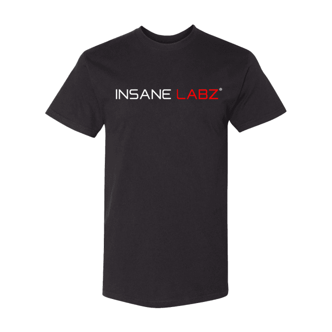 Insane Labz Logo T-Shirt Black