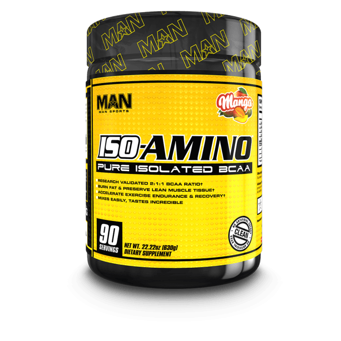 Man Sports Nutrition ISO-Amino 90 Serv - 630g (SHORT DATED)