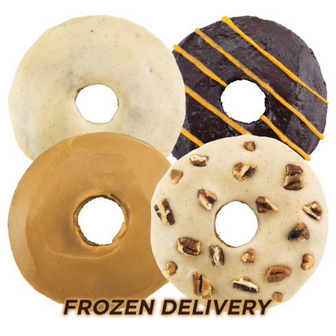 Jim Buddy's ** FROZEN** Donuts 6 x 55g