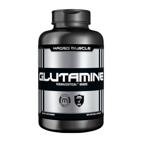Kaged Muscle Glutamine  250caps