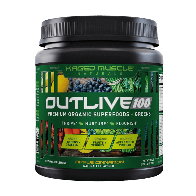 Kaged Muscle Outlive 100 30 Servings