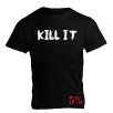 5% Nutrition Apparel Kill It / 5% Men's T-Shirt Black/White