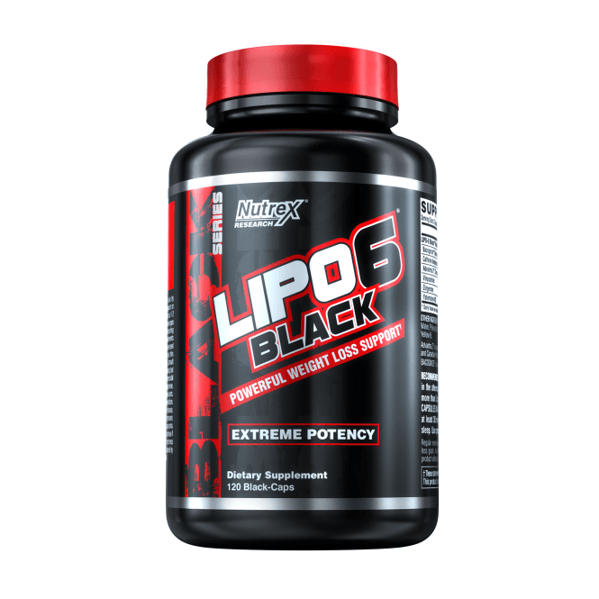 Nutrex Research Lipo-6 Black EU 120 Caps