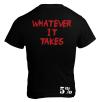 5% Nutrition Apparel Love It Kill It / Whatever It Takes Men's T-Shirt Black/Red