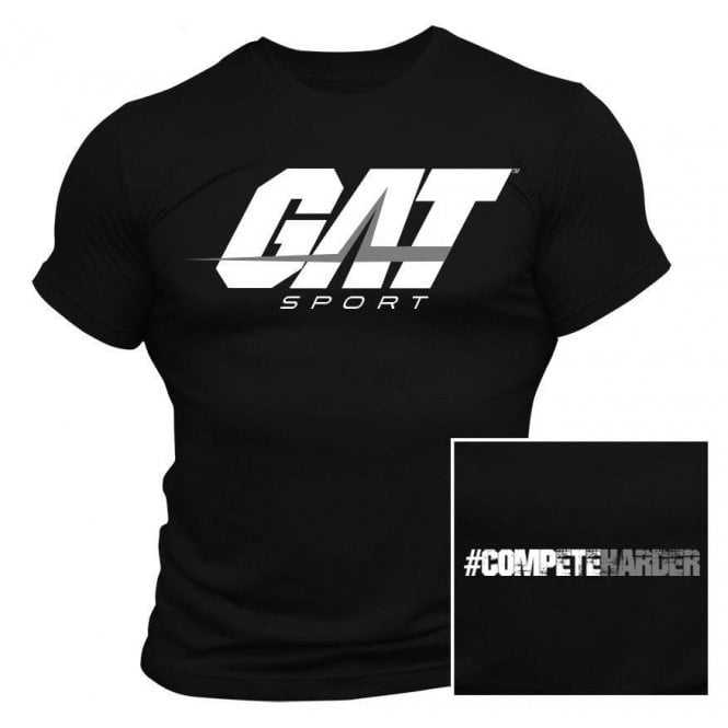 GAT Sport Men's T-Shirt Black