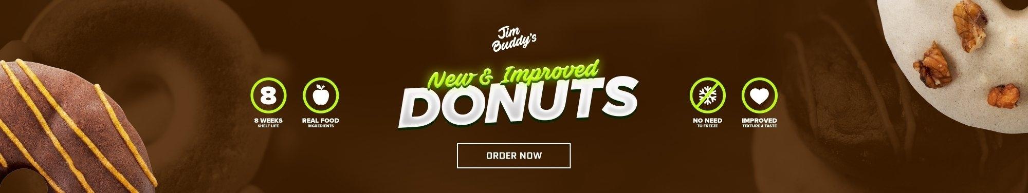Jim Buddy Protein Donuts