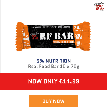 5% real food bar