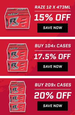 Raze Energy Promotions