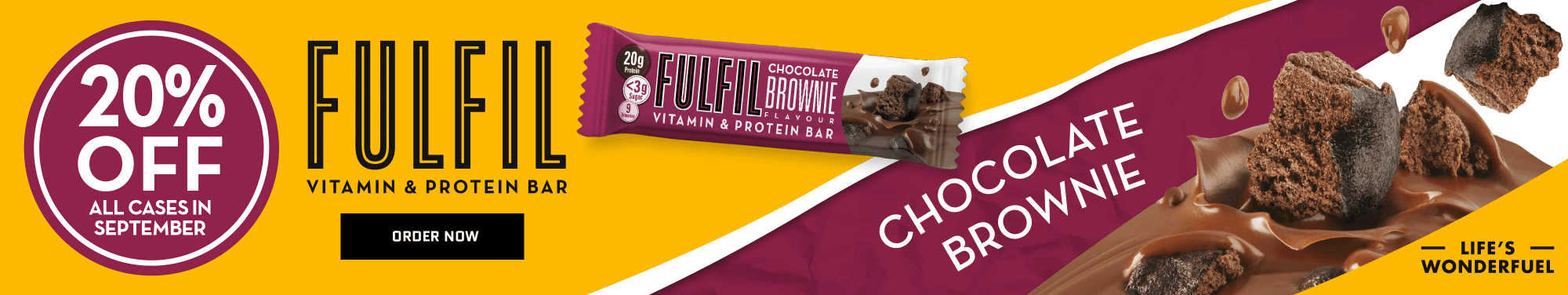 Fulfil Choc Brownie