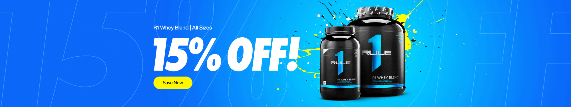 R1 Whey Blend 15% Off