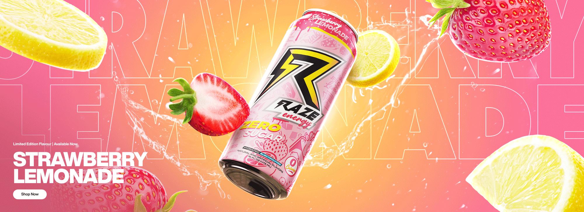 Raze Strawberry Lemonade