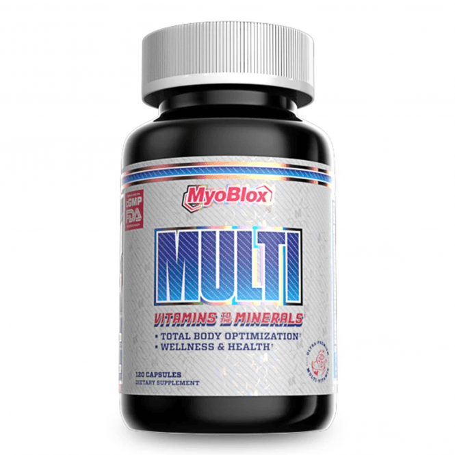 MyoBlox MULTI (Vitamins to the Minerals) 120 Caps