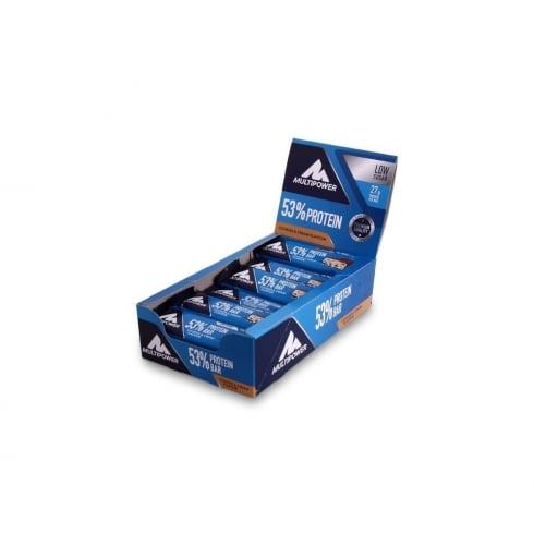 Multipower 53% Protein Bar 50g x 24 Bars