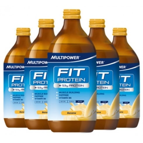 Multipower Fit Protein 500 ml X 12 bottles