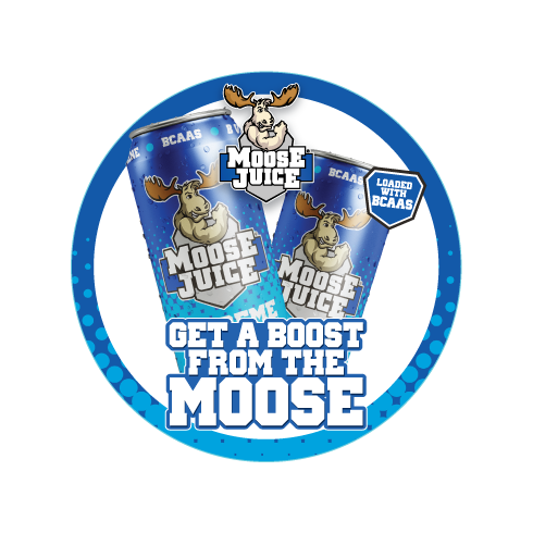 Muscle Moose Moose Juice Shelf Talker 13cm