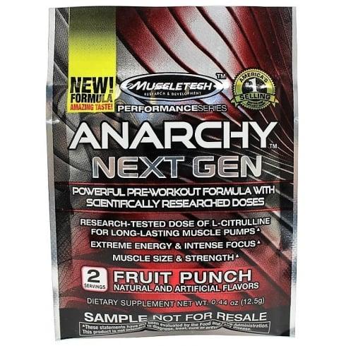 MuscleTech Anarchy Next Gen 2 Serve 20G