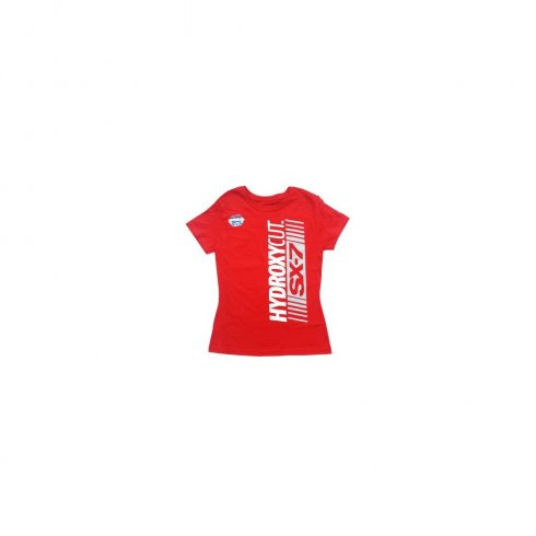 MuscleTech Hydroxycut Ladies T-Shirt Red