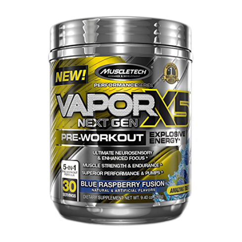 MuscleTech Performance Series Vapor X5 Next Gen 226g
