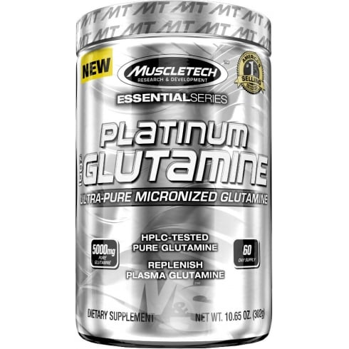 MuscleTech Platinum Micronised Glutamine 300g