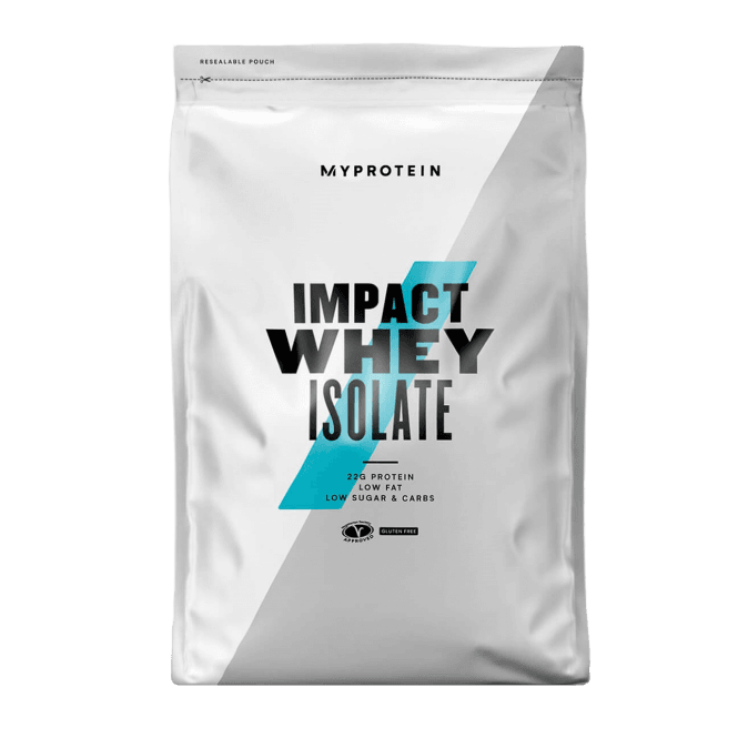 MyProtein Impact Whey Isolate 2.5kg (SHORT DATED)