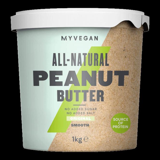 MyProtein Peanut Butter Natural - Smooth 1kg