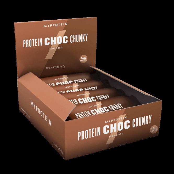 MyProtein Protein Choc Chunky 10x48.7g (SHORT DATED)