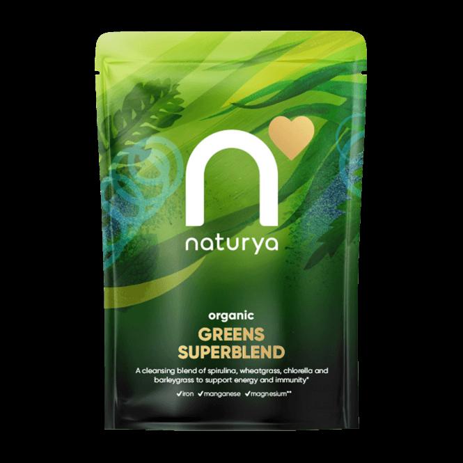 Naturya Organic Green Blend 250g (SHORT DATED)