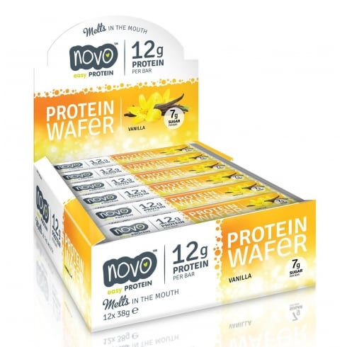 NOVO Nutrition Protein Wafer 12X38G (SHORT DATED)
