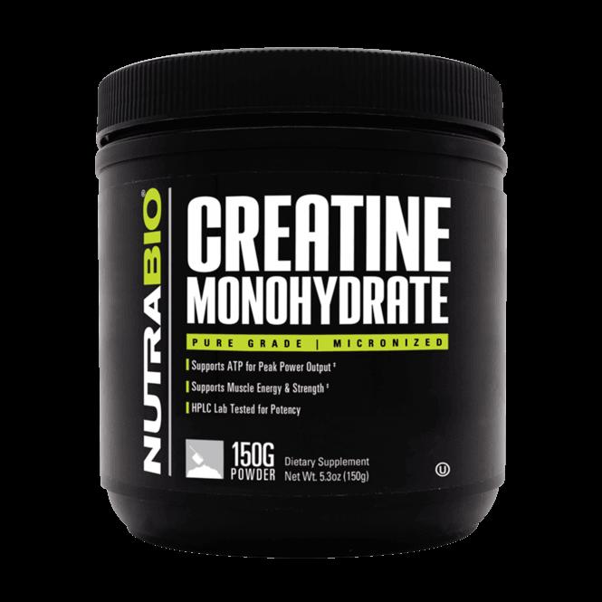 NutraBio Labs Creatine Monohydrate 150g