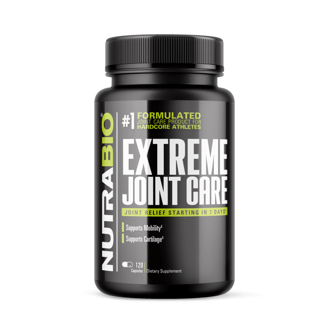 NutraBio Labs Extreme Joint Care 120 Caps