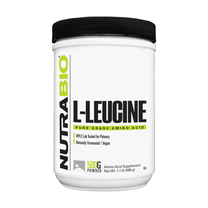 NutraBio Labs Leucine Powder 500g