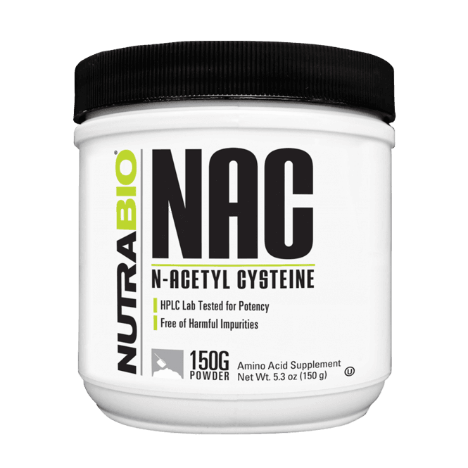 NutraBio Labs N-Acetyl-Cysteine Powder (NAC) 150g