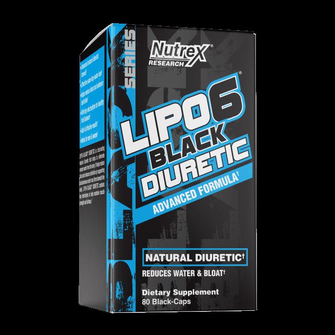 Nutrex Research Lipo-6 Black Diuretic 80 Caps