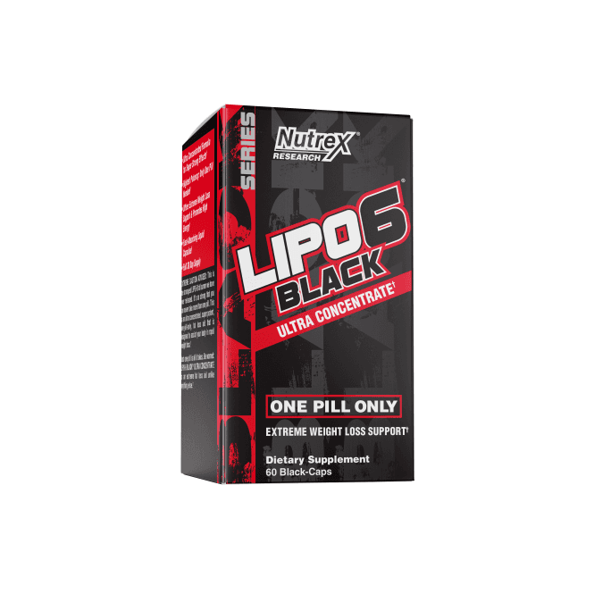 Nutrex Research Lipo-6 Black Ultra Concentrate EU 60 Caps