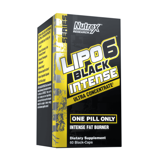 Nutrex Research Lipo-6 Black Ultra Concentrate Intense 60 Caps